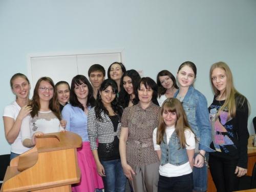 Научная сессия ВолГУ 2011